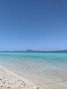 plage de l'ile plate