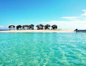 cayo arena proche punta rucia en republique dominicaine