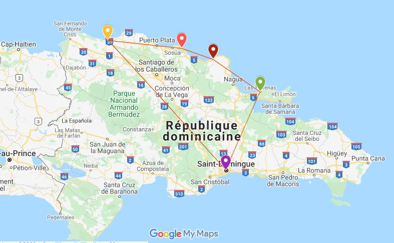 itinéraire 10 jours république dominicaine