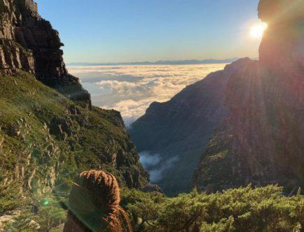 randonnée Table Mountain