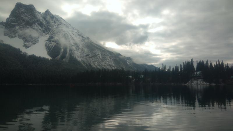 lac Canada parc Jasper