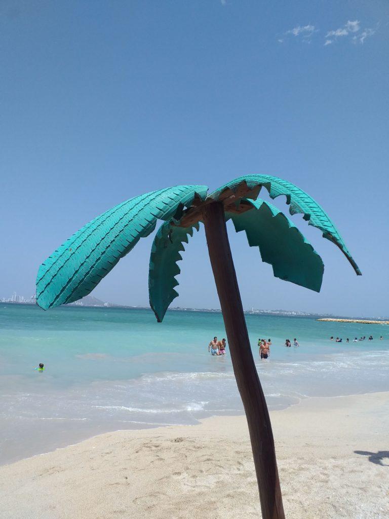 playa blanca colombie