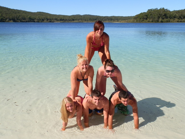 Lac McKenzie Fraser Island