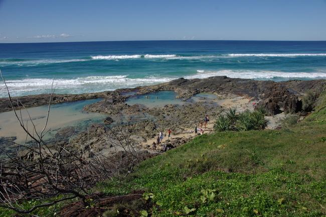fraser island australie vue
